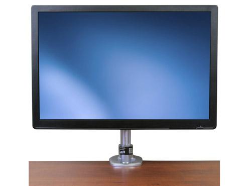 ARMPIVOT incluye un elegante mástil para monitor con fácil ajustes de altura, inclinación y ángulo de visión.