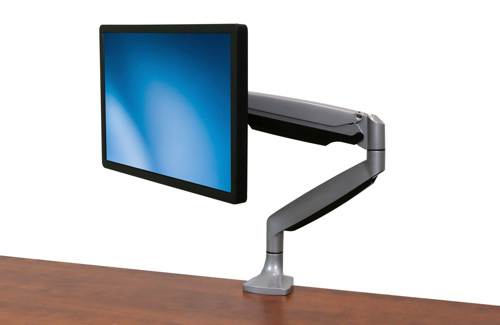 Modelo ARMPIVOTHD con monitor en posición horizontal
