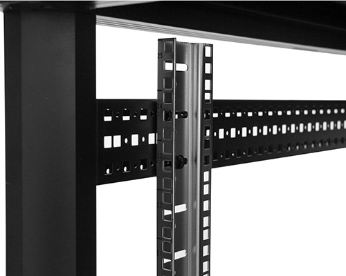 Adjustable mounting rails