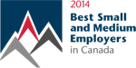 2014 Best Small and Medium Employers in Canada