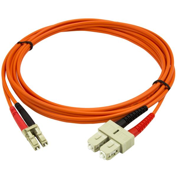 cable a fibre optique cable patch a fibre optique multimode 2 m 50 125 lc sc. Black Bedroom Furniture Sets. Home Design Ideas
