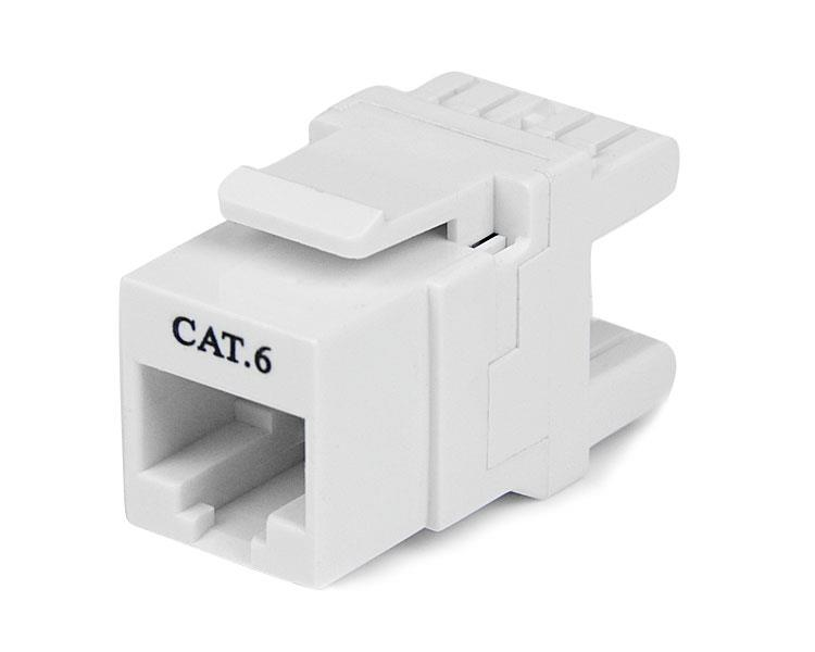 Cat6 Keystone Rj45 Ethernet 180 Degree 110 Type