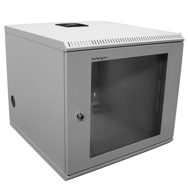 10u 19in Wall Mounted Server Rack Cabinet Startech Com