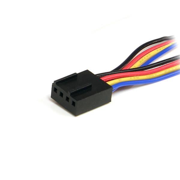 12in 4pin Pwm Fan Extension Power Y Cable Computer Power