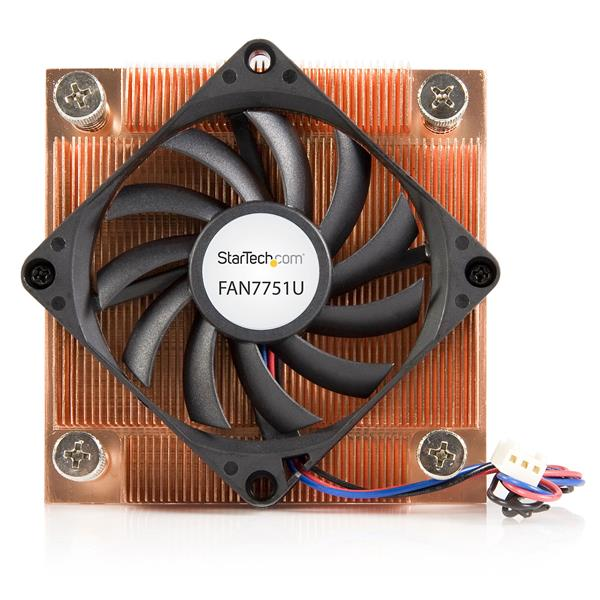 1U Low Profile 70mm Socket 775 CPU Cooler Fan w/ Heatsink & TX3