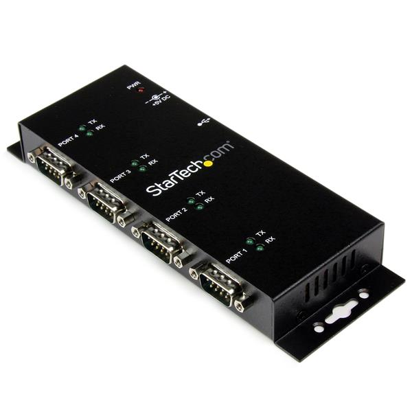 Industrial Usb To Serial Hub 4 Port Usb Rs232 Hub With