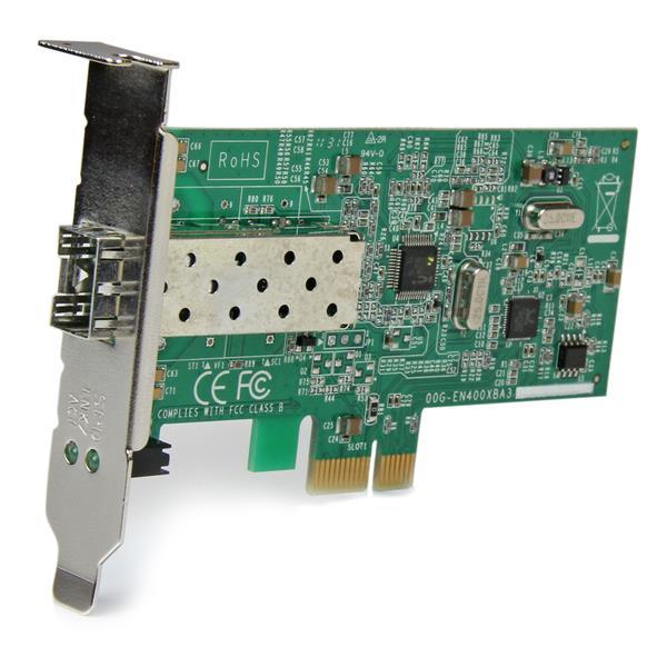 10 100 Mbps Fiber Sfp Pcie Network Card Fiber Network
