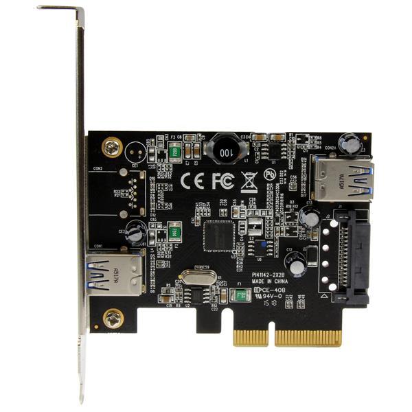 2 port usb 3 1 10 gbit s karte 1 interner 1 externer for Porte 1 3 2 3