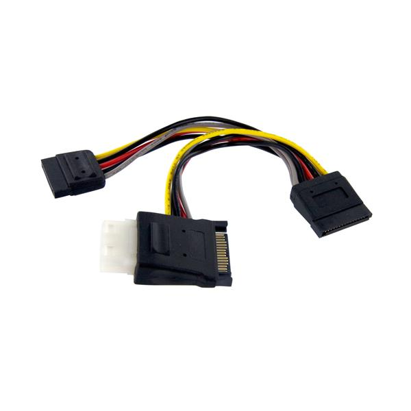 Sata Power Splitter : Sata power splitter with extra lp connector startech