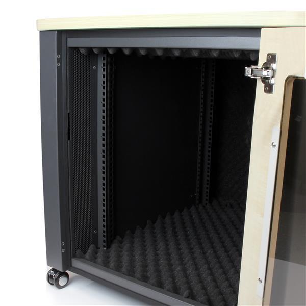 12u Quiet Office Server Cabinet Server Racks Startech Com