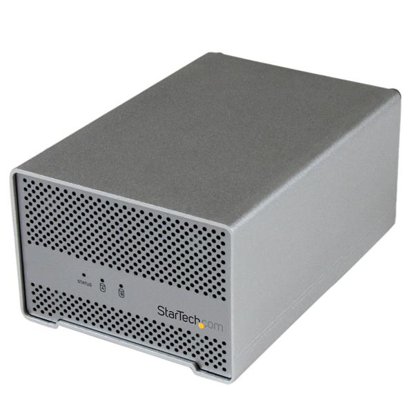 Large Image for Thunderbolt™ Hard Drive Enclosure with Thunderbolt Cable - Dual Bay 2.5