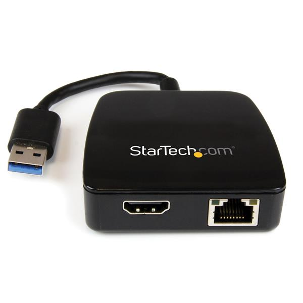 Usb 3 0 Mini Dock Adapter Gigabit Ethernet And Hdmi