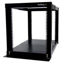 Open Frame Rack Cabinet 12u 4 Post Rack Adjustable