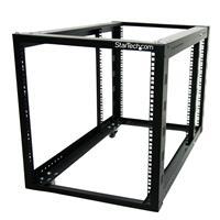 Open rack 12u open frame server network rack adjustable posts