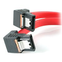 Right Angle Latching Serial ATA SATA Cable