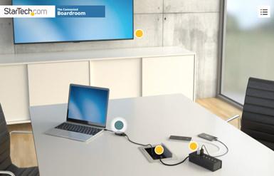 Connessione per la sala riunioni
