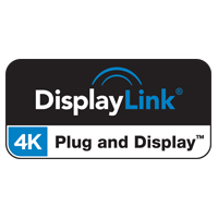 Logotipo de certificado DisplayLink