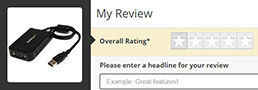 Submit your review using the review submission form.