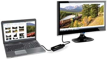 USB Video Adapters from StarTech.com provide a perfect compliment to any desktop, laptop, or ultrabook