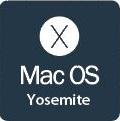 Mac OS X Yosemite (10.10) logo