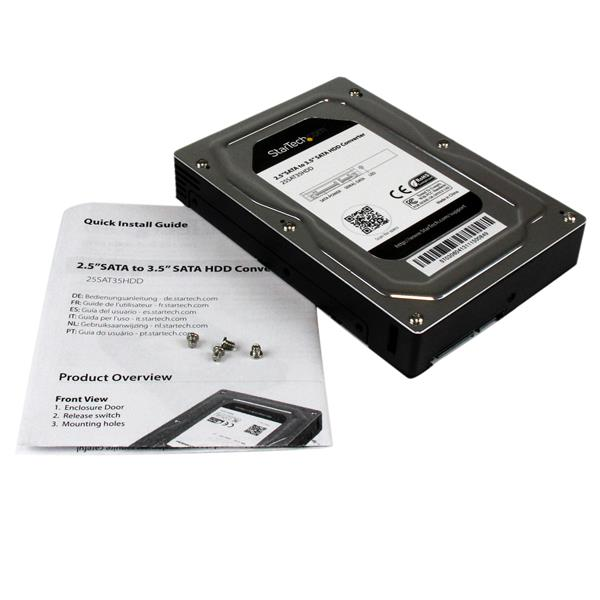 Thumbnail 6 For 25 To 35 SATA Aluminum Hard Drive Adapter Enclosure With SSD