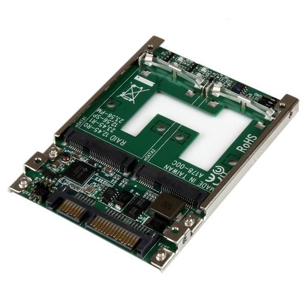 Dual Msata Ssd To 2 5 Quot Sata Raid Adapter Drive Adapters