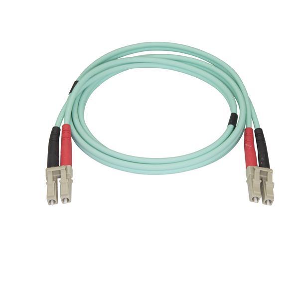 StarTech.com Cable 1M Fibra LC Multi Aqua