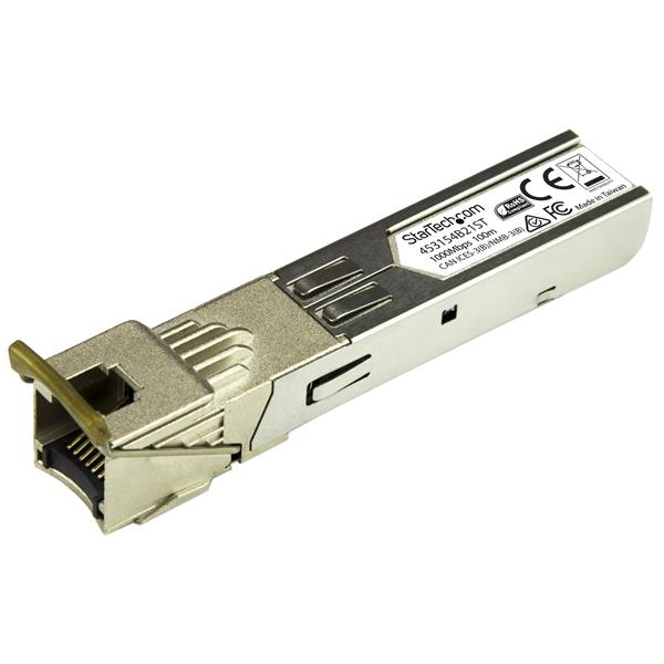 Large Image for Gigabit Copper RJ45 SFP Transceiver Module - HP 453154-B21 Compatible