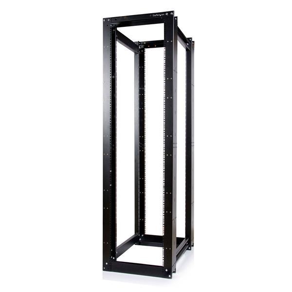Thumbnail 1 For 45u 3300lb High Capacity 4 Post Open Server Equipment Rack Flat Pack