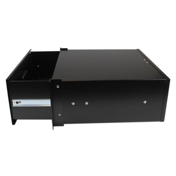 Thumbnail 2 For 4U Black Steel Storage Drawer For 19in Racks And Cabinets