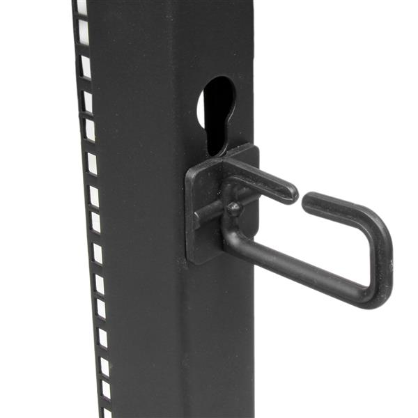 25u Open Frame 4 Post Server Rack Adjustable Depth