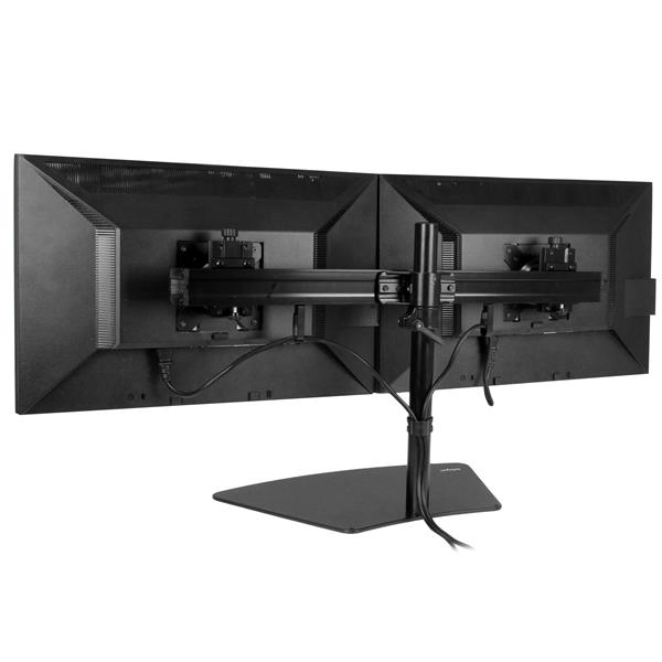 Dual Monitor Stand Monitor Mount For Two Displays Display Mounts