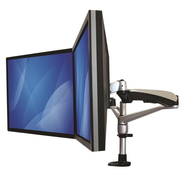 DualMonitor Mount with Articulating Arms Display Mounting