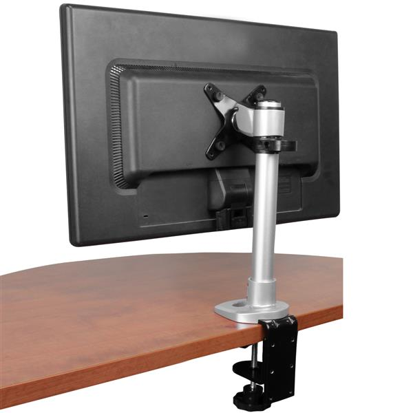 Height Adjustable Monitor Arm Grommet Desk Mount
