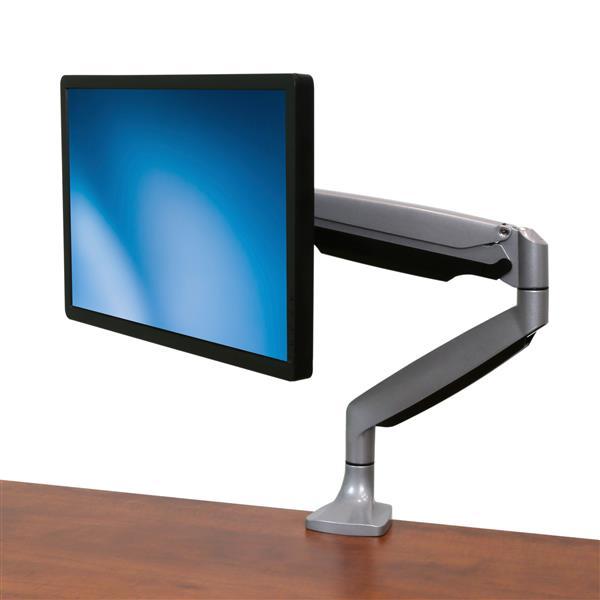 Magnificent Desk Mount Monitor Arm Full Motion Articulating Heavy Duty Aluminum Download Free Architecture Designs Scobabritishbridgeorg
