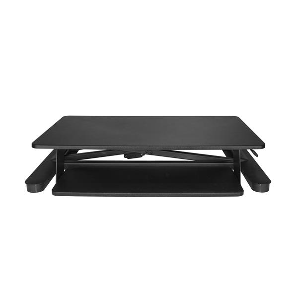 Thumbnail 4 For Sit Stand Desk Converter   With 35u201d Work Surface