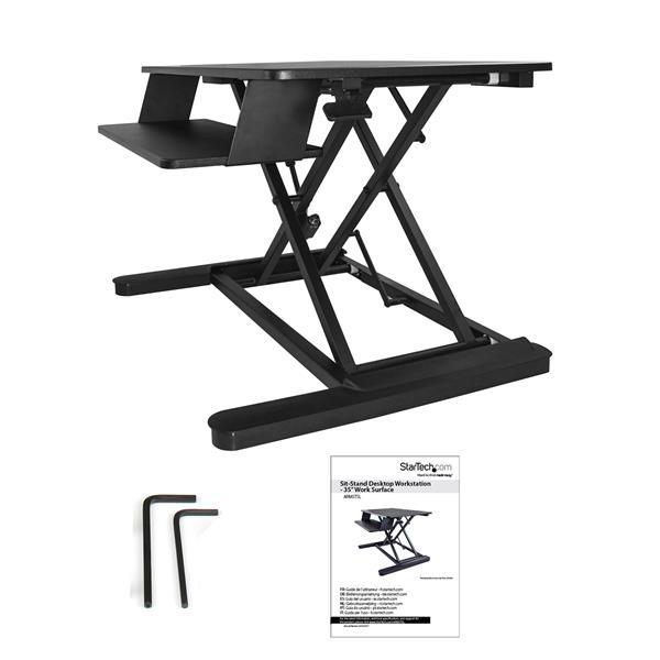 Sit Stand Desk Converter Workfitlx Sitstand Desk Mount