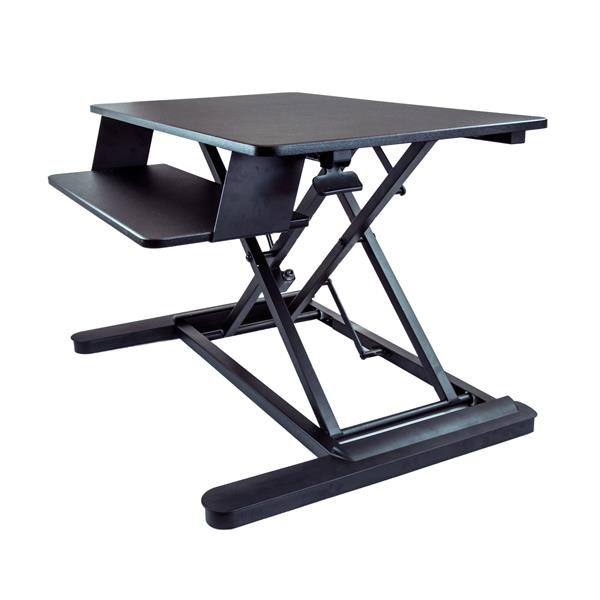 thumbnail 1 for sitstand desk converter with 35u201d work surface