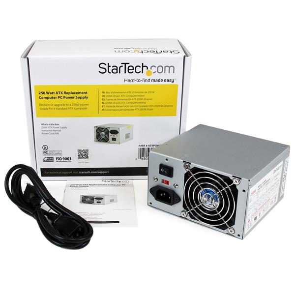 250W ATX Computer Power Supply | Replacement Power Supplies ...