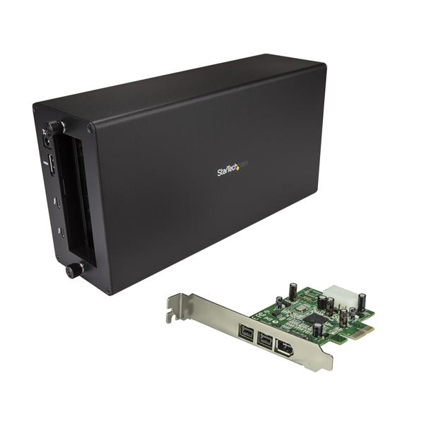 Large Image for Thunderbolt 3 to FireWire Adapter - Card & Chassis