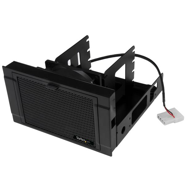 "Large Image for 4x 2.5"" SSD/HDD Mounting Bracket with Cooling Fan"