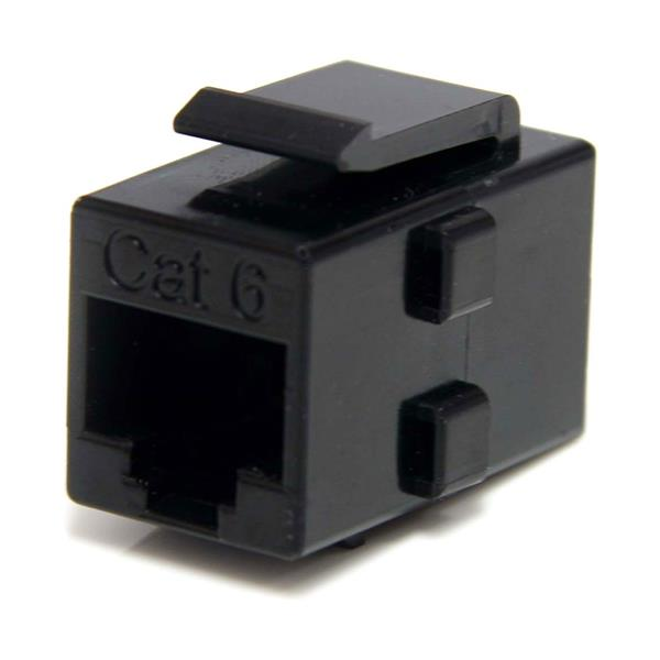 Large Image for Cat 6 RJ45 Keystone Jack Network Coupler - F/F