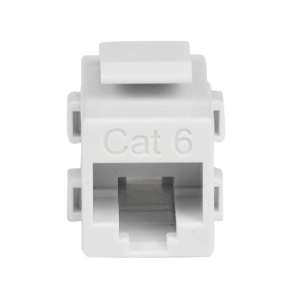 Cat6 rj45 coupler keystone jack white wall plates startech thumbnail 2 for white cat 6 rj45 keystone jack network coupler ff sciox Choice Image