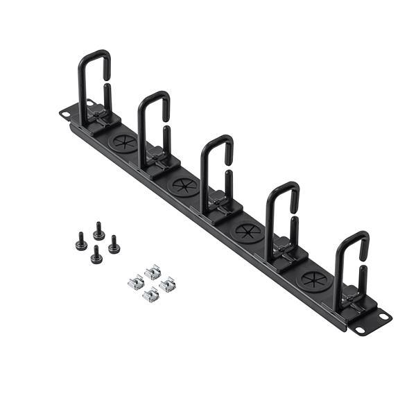 server rack cable-management panel