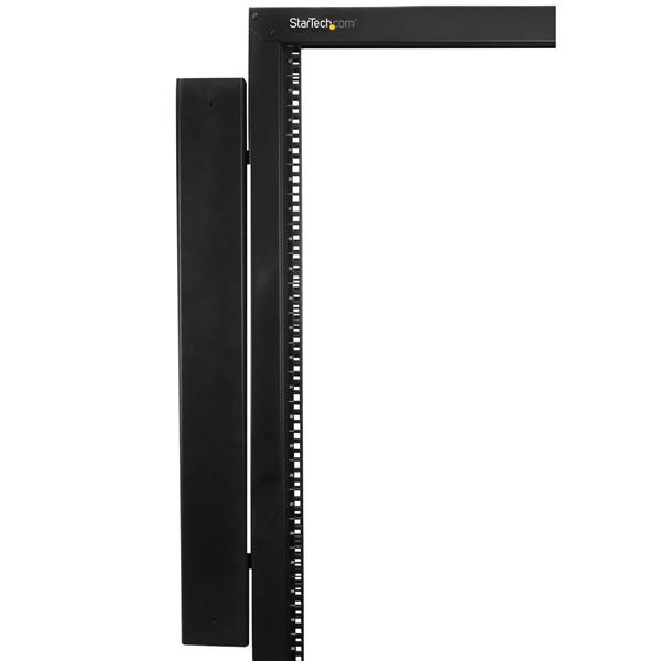 Rack-Mount Cable Raceway StarTech.com Vertical Cable Organizer with Finger Ducts 6 ft Vertical Cable Management Panel CMVER40UF 0U