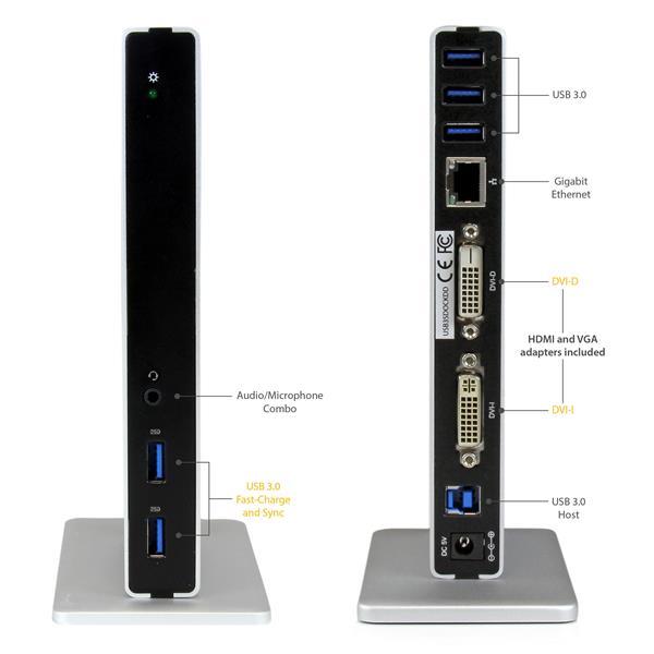 usb c laptop docking station laptop docking stations. Black Bedroom Furniture Sets. Home Design Ideas