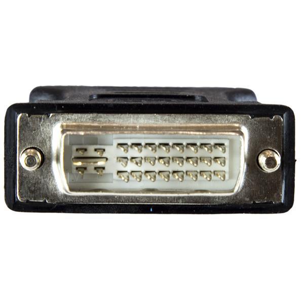 StarTech DVIVGAMFBK StarTech.com DVI to VGA Cable Adapter Black M//F PVC