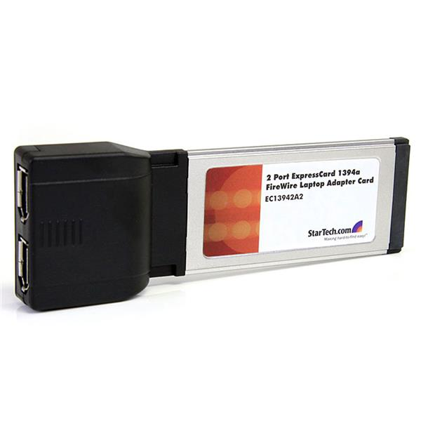Large Image for 2 Port ExpressCard 1394a FireWire Laptop Adapter Card