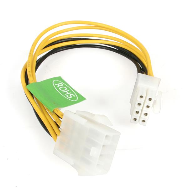 8in EPS 8 Pin Power Extension Cable | EPS Power Cables | StarTech.com