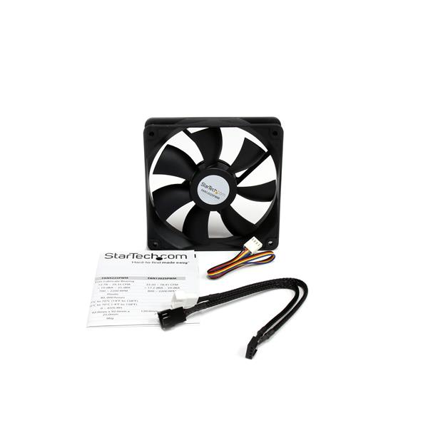 120x25mm Computer Case Fan with PWM – Pulse Width Modulation Connector